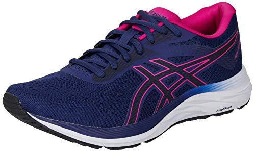 ASICS Gel-Excite 6 Laufschuh Damen dunkelblau/pink, 11 US - 43.5 EU