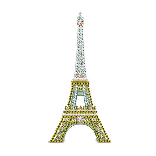 Diamond Painting LED Night Light DIY 5D Diamond Painting Modeling Embroidery Christmas Lamp Gifts Eiffel Tower 9.8x13.8 in 1 Pack by witfox