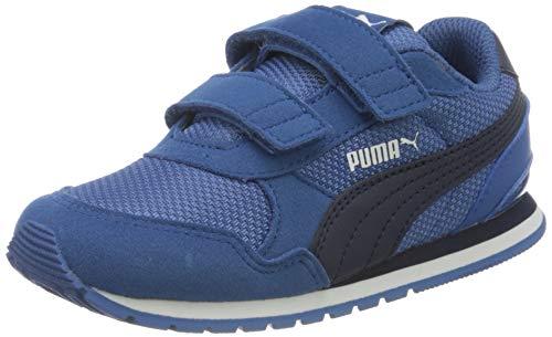 Puma Unisex Kinder St Runner V2 Mesh V Inf Sneaker, Blau (Bright Cobalt-Peacoat White), 24 EU
