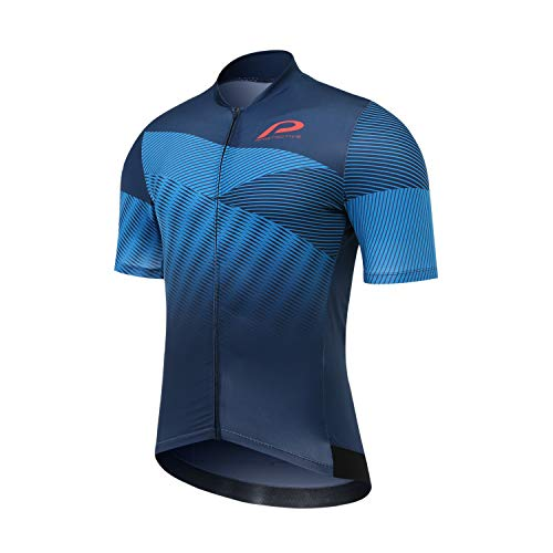 Protective P-Light it Up Kurzarm Trikot Herren Blue Größe L 2021 Radtrikot kurzärmlig