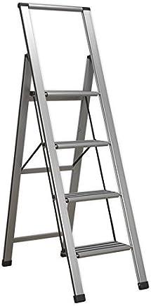 Sealey 铝质专业折叠梯子 150kg 容量 银色 700 mm APSL4