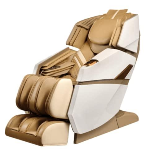 Poltrona Massaggiante Professionale Relax Elettrica Reclinabile Zero Gravity Massaggio Scansione 3D Riscaldato Cuscini d'aria Rulli Massaggiatori Piedi e Bluetooth SADIRA PHARMA 25