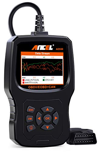 Sale!! ANCEL AD530 Vehicle OBD2 Scanner Car Code Reader Diagnostic Scan Tool with Enhanced Code Defi...
