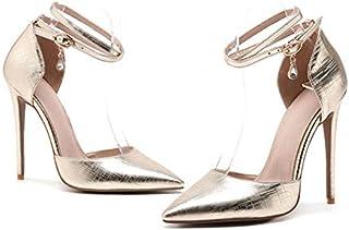 eb2ab188590b MENGLTX Talon Aiguille Talons Hauts Sandales Nouvelle Arrivée De Mode  Printemps Été Pompes Femme Chaussures Talon