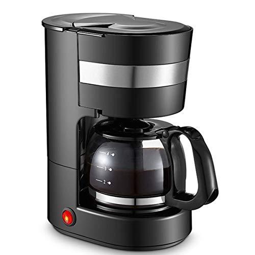 Koffiezetapparaat, 4-6 Cup Drip Koffiezetapparaten, 0,65L Amerikaanse Koffiemachine Met Anti-Drip-Functie, Filter Koffiezetapparaat Voor Koffie En Thee, Zwarte
