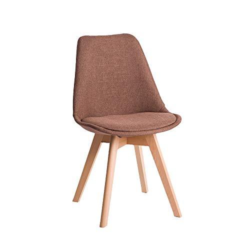 FYMDHB886 Eetkamerstoel Scandinavisch hout stoel fauteuil bar Dressoir Nagelkruk Onderhandelingsstoel Bank Vergaderstoel, Size, B