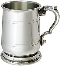 pewter christening mug