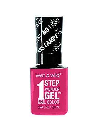 Wet n Wild Coral Support 1 Step Wonder Gel Nail Color Esmalte para las Uñas - 7 ml