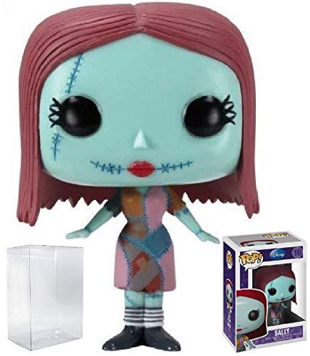 Funko Pop! Disney: The Nightmare Before Christmas - Sally Vinyl Figure (Bundled with Pop Box Protector Case)