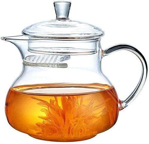 Tetera silbante Tetera de Engrosamiento Tetera de té con Flores Tetera Resistente al Calor Tetera de la Tetera de la Tetera de la Tetera con el Filtro Tetera de la Flor Tetera pequeña Tetera WHLONG