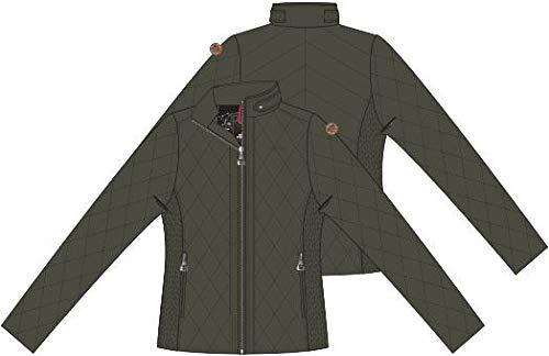 HV Polo Mary Jacke für Reitsport, warm, leicht, Winter, Damen, army, 12