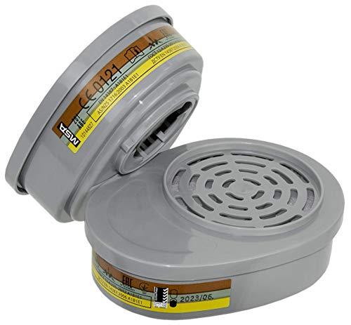 Protección respiratoria MSA Advantage.  Filtros mixtos