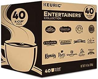 Keurig Entertainers Variety Pack Single-Serve Coffee K-Cup Pods Sampler, 40 Count