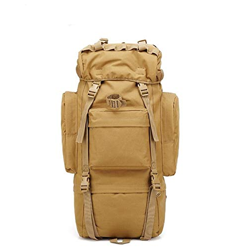 Canvas Outdoor Camping Hiking Travel Duffel Leisure Bag Case with Shoulder Strap Trekking Traveling Camping Walking