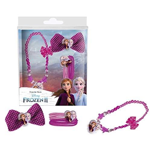 Set accessori capelli con Collana Frozen