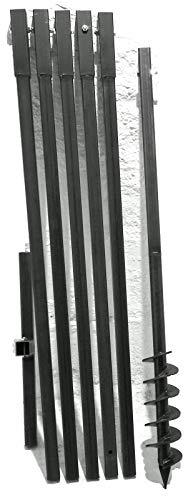 MWS-Apel 90 mm 6 Meter Erdbohrer Brunnenbohrer Handerdbohrer Erdlochbohrer Brunnenbau Pfahlbohrer brunnenbohrgerät