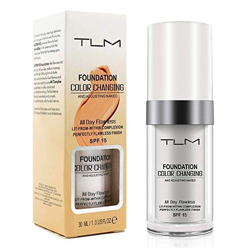TLM Colour Changing Liquid Foundation Cream Flawless Finish Review
