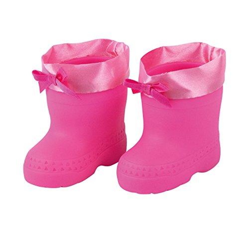 Bayer Design 7311600 - Regenstiefel für Puppen pink