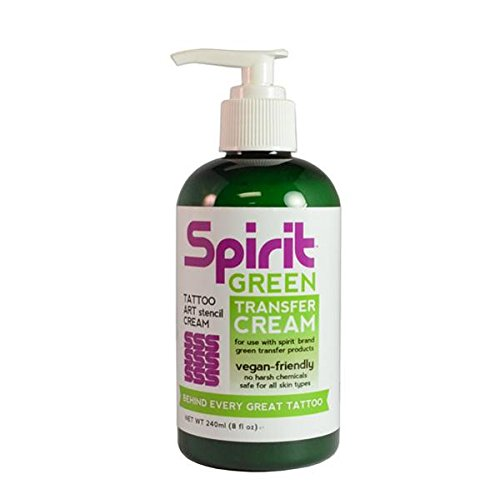 Spirit Green Stencil Transfer Cream for Green Tattoo Stencil -...