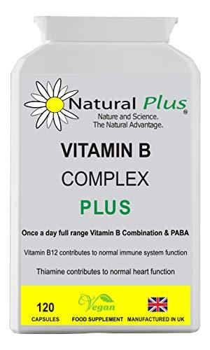 Vegan Vitamin B & PAPA Complex 120 Capsules £10.00