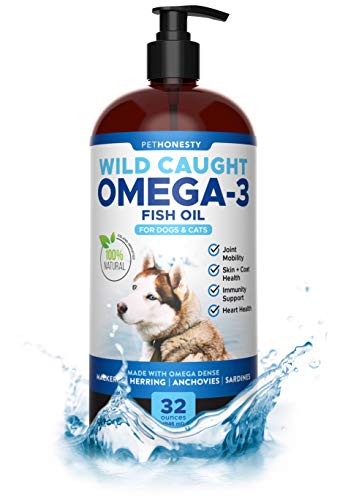 PetHonesty 100% Natural Omega-3 Fish Oil for Dogs from Iceland -...