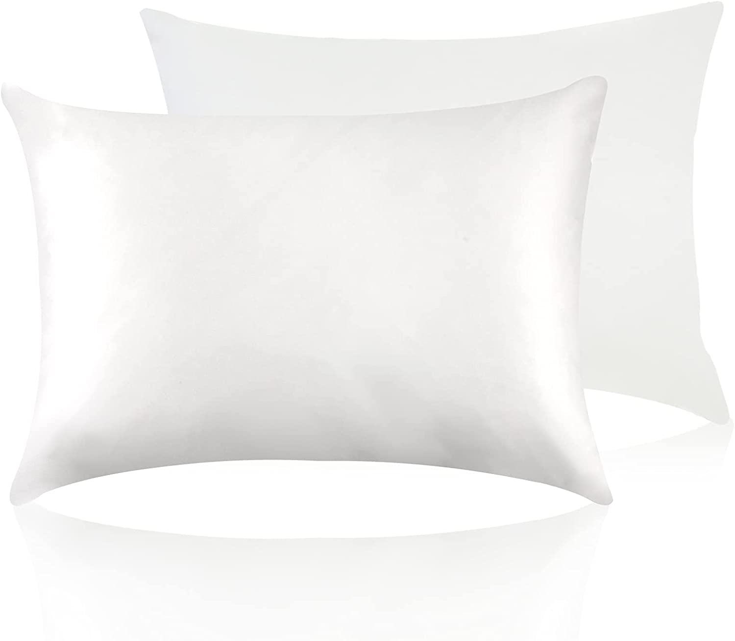 JZS Pure Mulberry Silk NEW Pillowcase with for Cotton Underside 35% OFF Hair