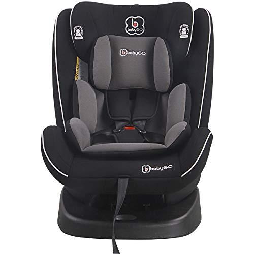 babyGo Nova black Kinderautositz Isofix 0-36 kg
