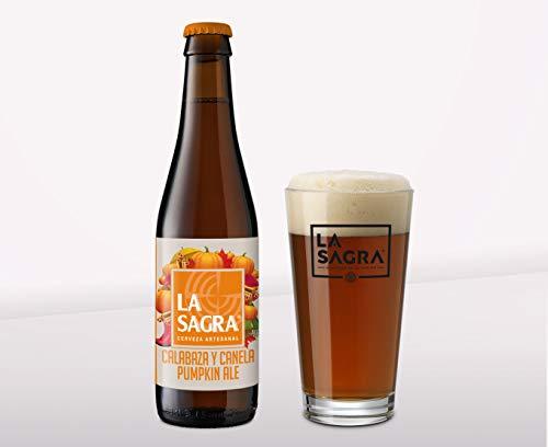 Pack 12 Cerveza La Sagra Calabaza y Canela'Pumpkin Ale' 330 ml