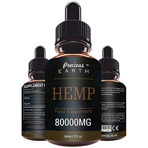Premium natürliches Hanfsamenöl - 100{3f6be81b976954031d16a951f8ded248b2a147e92f112c5c538b200fde9ae2f3} vegan - Essentielle Omega 6-9 Naturöl - 60ml - Qualitätsprodukt - Hemp - 1 Monatsvorrat (80000mg)