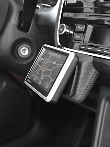 KUDA 296805 Halterung Kunstleder schwarz für VW UP (AA) ab/Seat MII ab/Skoda Citigo ab 11/201