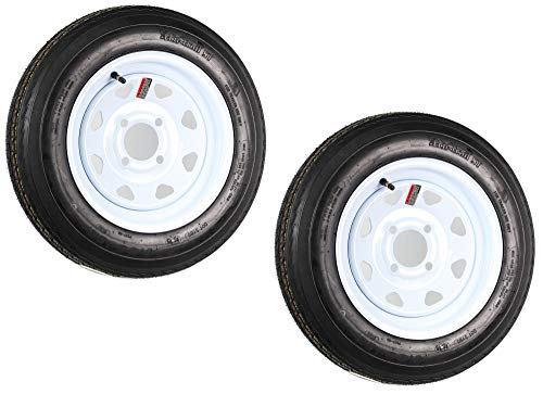 12 inch trailer wheel and tire - 3