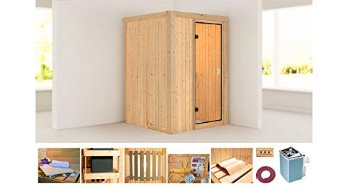 KONIFERA Sauna Linda 9-kW-Ofen mit integrierter Steuerung