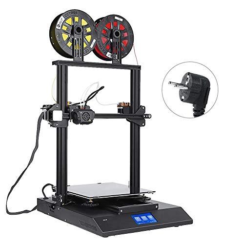 Zerone Imprimante 3D à Double Couleur Imprimante 3D Kit Bricoleur 4.3en Touch Screen Auto nivellement Imprimante 3D