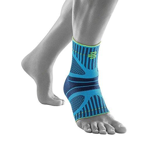 """Bauerfeind Fußbandage fürs Sprunggelenk """"Ankle Support Dynamic"""", Unisex, 1 Fußgelenkbandage für Sport wie Joggen, Fußball oder Fitness, Sprunggelenkbandage für Sensomotorik, Rivera, L"""
