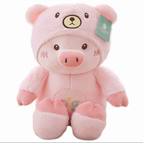 Plüsch-Spielzeug, Plüsch-Schwein Tier Stuffed Piggy Plüsch Rosa Schlafkissen Bett-Kissen 70cm ZHNGHENG