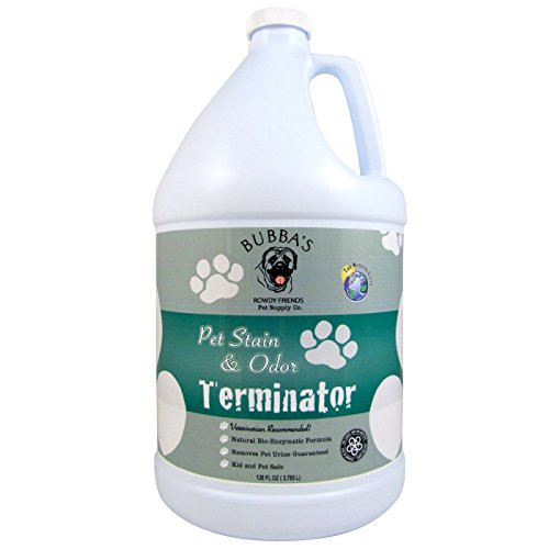 BUBBAS Super Strength Commercial Enzyme Cleaner - Pet Odor Eliminator...