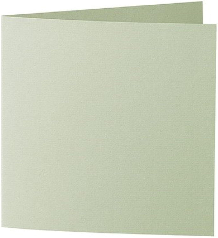50 Stück    Artoz Serie 1001 Doppelkarten gerippt    Quadratisch, 310 x 155mm, hochwertig, linde B002JJ5ATG   | Erste Gruppe von Kunden