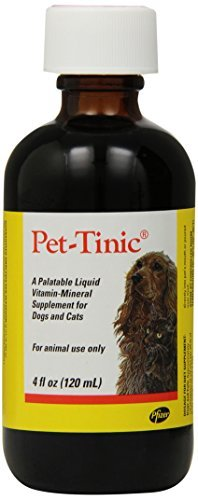 Top 10 best selling list for pfizer animal pet-tinic vitamin-mineral supplement for dogs and cats