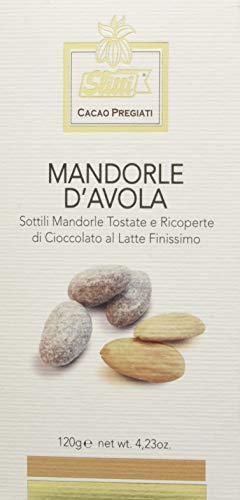 Slitti Mandorle d'Avola Rivestite di Cioccolato al Latte - 120 g