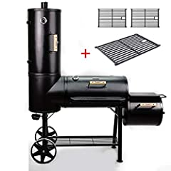 TAINO Chief 130kg Smoker BBQ Smoked Oven Charcoal Grill incl. Set van 3 Cast Iron*