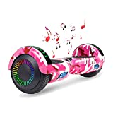 Huanhui 6.5Inch Self Balancing Electric Scooter Hoverboard Offroad With Strong motor, Safe UL2272 Certified,...