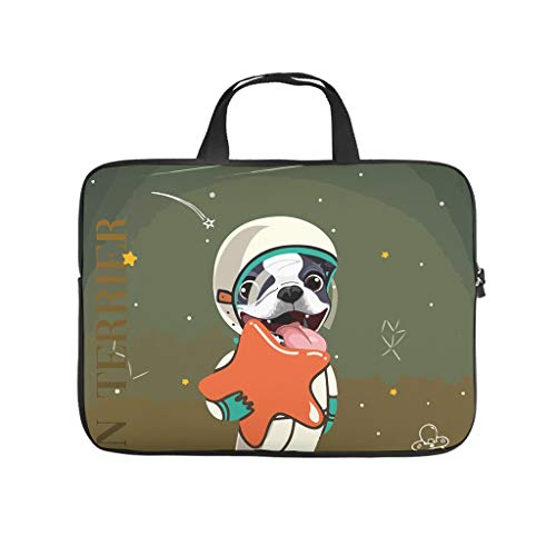 Dog Astronaut Double Sided Printed Laptop Bag Protective Case Durable Neoprene Laptop Bag Case Cover Fashion Tablet Bag Sleeve Case Sizes Available