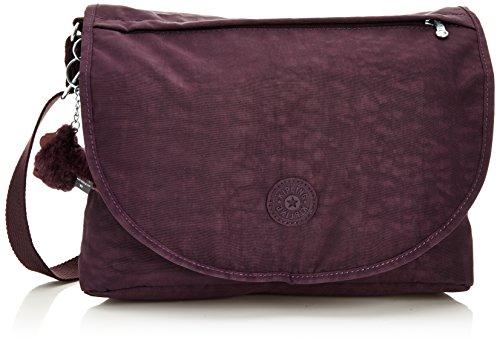 Kipling Damen ORLEANE Schultertaschen, Violett (Dark Auberg), 32x23x11 cm