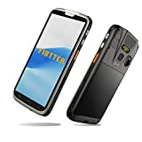 """Android 10.0 Barcode Scanner, FIBTTER Rugged Android Handheld Scanner PDA with Zebra SE4710 2D Scanner NFC Fingerprint WiFi 4G LTE 5.5"""" Touch Screen Industrial Mobile Device for Shipping Delivery WMS"""