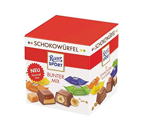 Ritter Sport Schokowürfel Bunter Mix, 176 g.
