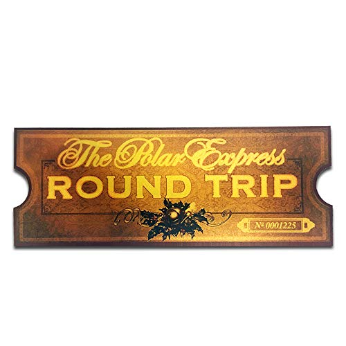 LilyDeal Polar Express Round Trip Train Ticket 4