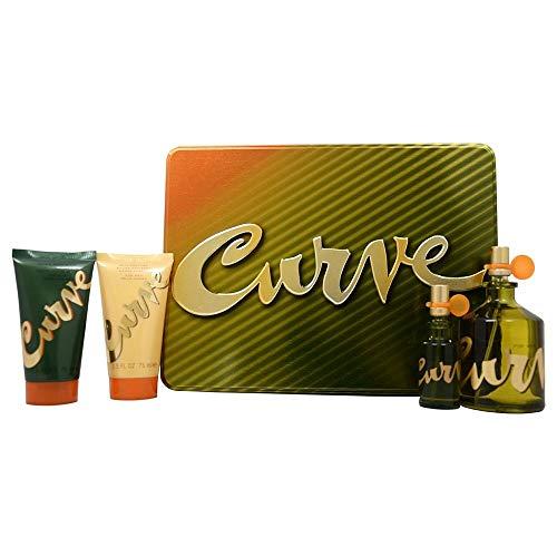 Curve - 4 pièces Coffret Cadeau - pour Homme