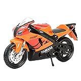 El Maquetas Coche Motocross Fantastico 1︰18 para Yamaha YZF-R7 Deporte Simulación Miniatura Aleación Modelo De Moto Juguete Colección De Regalos Decoración Expresión De Amor