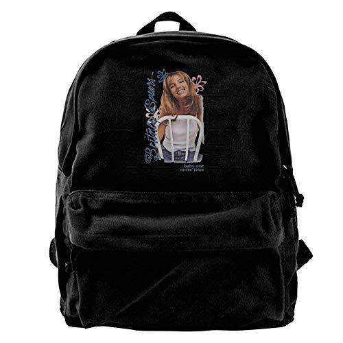 Yuanmeiju Canvas Rucksack Britney Spears Rucksack, Travel Notebook Bag.