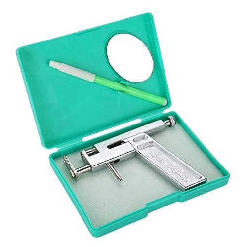 Kits de peircing, herramienta para perforar orejas con rotulador, mini espejo, profesional, de metal, sin dolor, para nariz, oreja, ombligo, orejeras, perforaciones, aretes, juego de herramientas para